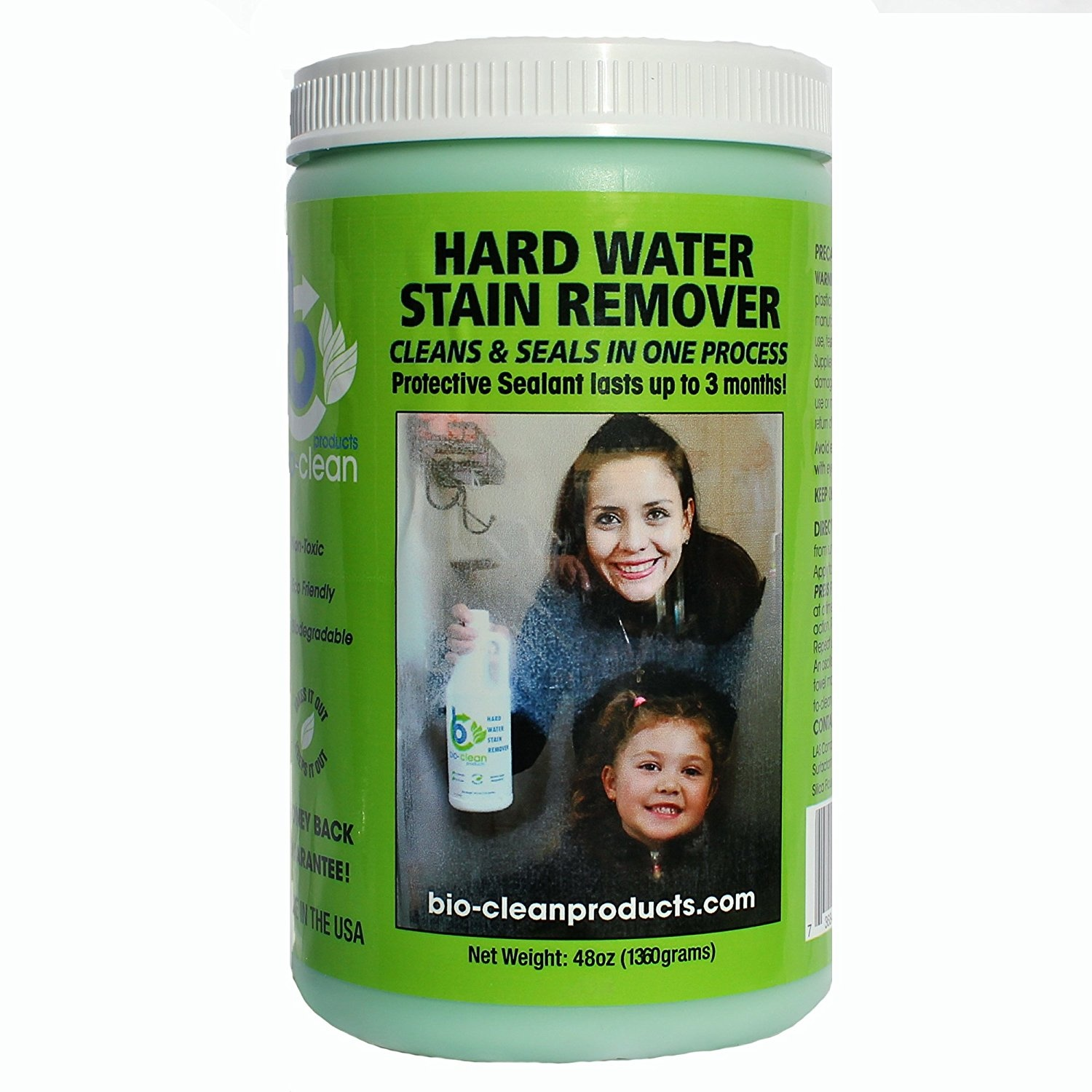 Bio Clean:Hard Water Stain Remover Buy 2 Cleaners(1420mlMax-strength ...