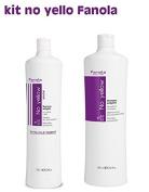 Kit No Yello Fanola Shampoo 1000 ml + Mask 1000 ml