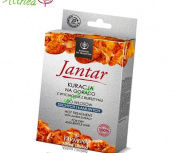 JANTAR Rebuilding Hot Treatment Set for Dry and Brittle Hair with Amber Extract