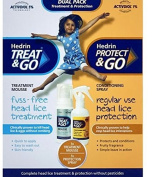 Hedrin Complete head lice Treatment & Protection Dual Pack