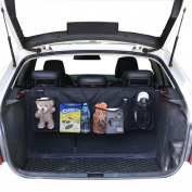 BackSet-Trunk Organisers by SunteeLong™ Car Storage SUV Car Organiser, Backseat Organiser with Adjust Straps -Storage Organiser, Back Seat Storage Organiser Perfect Any Car,Van
