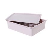 10 Grid With cover Socks Underwear Storage Box / Finishing Box-Khaki