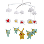 Baby Toy Activity Centre- Crib Musical Mobile, Multi-colours, A Great Decor