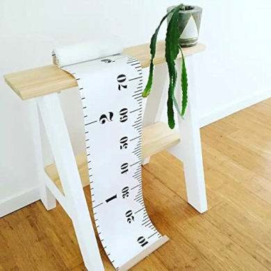 """Dulcii Ready To Hang Kids Canvas Height Growth Chart,Measures Babies to Adults(0"""" - 200cm )"""