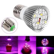 28 LED 28W E27 Grow Light Lamp Veg Flower Indoor Hydroponic Plant Full Spectrum ,Tuscom