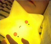 URTop 1Pcs Cute Novelty Star Shape Led Night Light Luminaria Bedroom Nursery Mini Desk Table Decorate Night Lamps Kids Children Gift Home Decoration