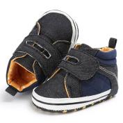 EMIKI Baby Toddler Boys Cute Crib Shoes Anti-Slip Prewalker Soft Sole Shoes Sandals