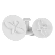Cake Mould,Hunzed 3Pcs Pigeon Flower Cake Fondant Cookie Decorating Cake Plunger Mould