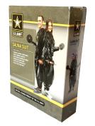 U.S. Army Licenced Sauna Suit, Size M/L, Fits Waist 90cm - 110cm