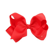 Pengyu 1Pc Cute Baby Girls Large Bow Knot Ribbon Hair Clip Hair Accessories