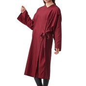 Colorfulife Salon Client Gown Robe Crepe Large Smock Kimono Hairdressing Cape Dress Beauty SPA Hotel Barber Guest Clothes Night-gown Wrap