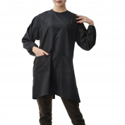 Colorfulife Salon Client Gown Robe Smock Kimono Back Tie Design Hairdressing Cape Dress Beauty SPA Hotel Barber Guest Clothes Night-gown Wrap