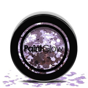 PaintGlow, Chunky Cosmetic Glitter for Hair, Face & Body, Helter Skelter, 3g