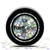 PaintGlow, Chunky Cosmetic Glitter for Hair, Face & Body, Mystic Mermaid, 3g