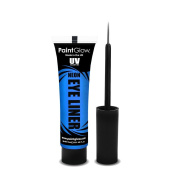 PaintGlow UV Neon Eyeliner, Neon Blue 15 ml