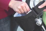 Hi Suyi Waterproof Oxford Baby Stroller Drink Cup Holder Bottle Pocket Insulated Bag Keys Phone Holder