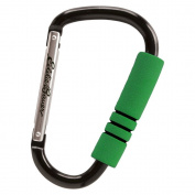 Eddie Bauer Hook N Go Stroller Hook (Discontinued by Manufacturer) Green