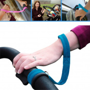 Baby Stroller Wrist Strap,Pram Safety Belt Infant Kid Carriage Harness Anti Lost