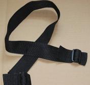 TTKB.HH bBaby Cart Stroller Strap,Seat Belt,Suitable For 90% Of Baby Stroller,1PCS,Black