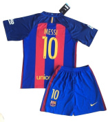 2016/2017 Messi #10 FC Barcelona Home Jersey & Shorts for Kids/Youth