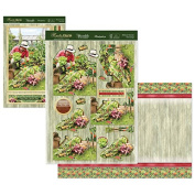 Hunkydory Crafts Rustic Charm Allotment Garden Card Kit CHARM905