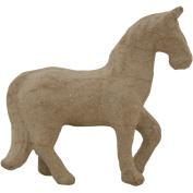 Paper-Mache Horse-12cm x 11cm