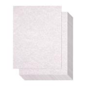 Pack of 96 Aged Parchment Paper - Parchtone Paper - Vintage Scrapbook Paper, Grey, 22cm x 28cm
