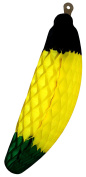 2-pack 38cm Large Jamaican Honeycomb Tissue Paper Banana Fruit Decoration