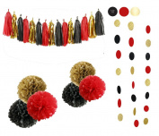 Sopeace 23pcs Tissue Craft Decoration Kit | Pretty Party Supplies