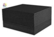 Mat Board Centre, Pack of 25 50cm x 60cm Black Foam Core Backing Boards