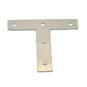 10 Pcs 80mm Angle Corner Brace Joint Fasteners Bracket Stainless Steel Screws Plate T Shaped