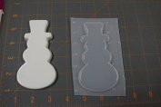 Snowman Plastic Mould, Resin Mould, chocolate mould