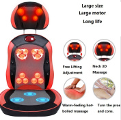 AMYMGLL Multi-function massage chair home pillow 3D massage ball kneading infrared therapy free adjustment magnet treatment heating function for the part (legs, buttocks, waist, back, neck) , 1