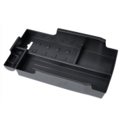 Black Inner Control Armrest Storage Secondary Glove Box Organised Container for Toyota Camry 2012-2015