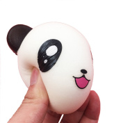 JoyJay 1 PC Soft Squishy Toy Squeeze Soft Cute Panda Stress Stretch Scented Super Slow Rising Kids Toy Strap Squishy Toys Slow Rising Party Favours Phone Straps 10*8CM