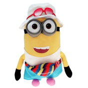 """Plush of MINION JERRY TOURIST Freedonian XXL GIANT 65cm 26"""" Soft Toy from DESPICABLE ME 3 Original and Official MINIONS"""