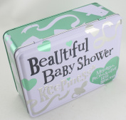 Bright Side Beautiful Baby Shower Storage and Keepsake Tin