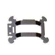 For DJI Mavic Pro Aluminium Gimbal Vibration Plate Board, Leewa@ Replacement Mount Part - Black