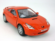 13cm Toyota Celica 1/34 Scale Diecast Model by Kinsmart - RED