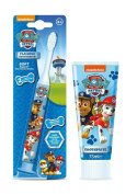 Set of 2 - NICKELODEON - PAW PATROL Toothbrush and Toothpaste