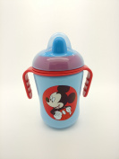 DISNEY Baby Non-Spill Twin Handle Cup (Blue Mickey Mouse) BPA Free
