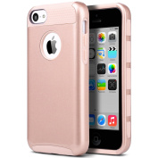 iPhone 5c Case, ULAK iPhone 5c Case Dual Layer Hybrid Hard PC + TPU Protective Case Cover For Apple iPhone 5c