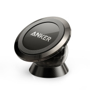 Anker Universal Magnetic Car Mount — Ultra-Compact Phone Holder for iPhone 7 / 7 Plus / 6s / for Samsung Galaxy S8 / S7 / S6 and more