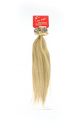 1st Lady 46cm Over Full Head Clip in on Hair Extensions 119g - 100% Remy Human Hair - 1 metre wide weft