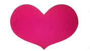 Mateque Pink Cerise Heat Mat Heart Shaped for hair appliances by mateque