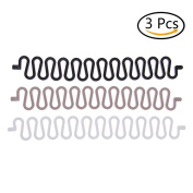 CosCosX 3 Pieces Fashion French Hair Braiding Tool Roller With Magic hair Twist Styling Bun Maker