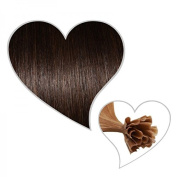 25 Strands 35 cm Dark Brown # 02