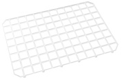 Fmprofessional 21498 Glass Stacking Mats, 4 Units, Polypropylene, White, 50 x 50 x 20 cm