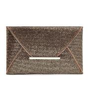 Women Glitter Sequins Handbag Party Evening Envelope Clutch Purse Wallet