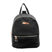 TianranRT Artificial leather Fashion Women Backpack Leather School Bags Girls Top Handle Backpack